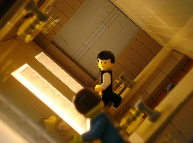 Inception Hallway Fight