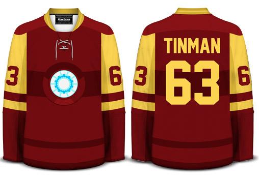 Iron Man Hockey Jersey