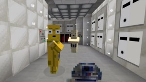 Minecraft Star Wars Episode IV Opening Sequence
