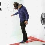 Oculus Rift Kinect Vertigo Simulator Virtual Reality 3