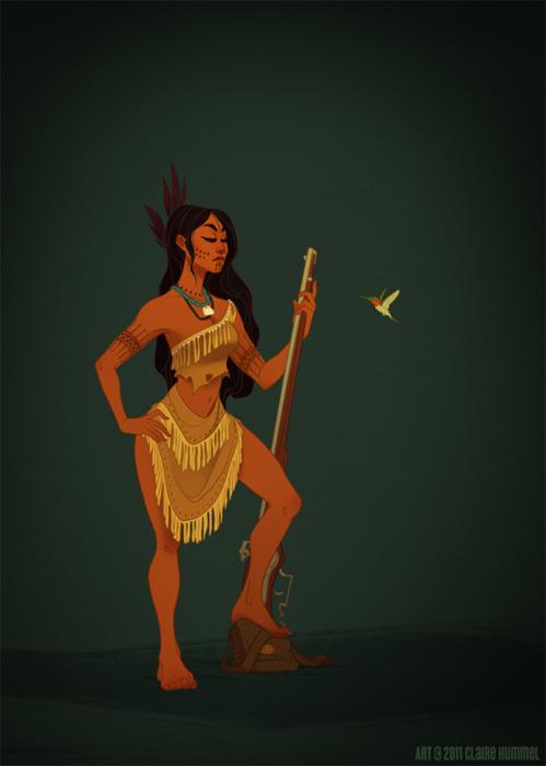 Pocahontas - 17th Century Powahtan