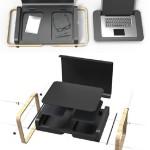 Portable Laptop Case-Desk