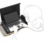 Portable Laptop Case-Desk 5