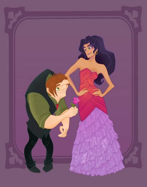 Quasimodo & Esmeralda