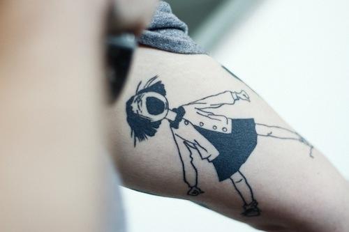 Ramona Quimby Tattoo