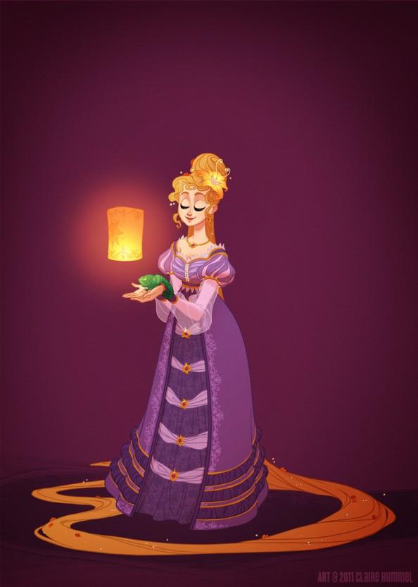 Rapunzel - 18th Century
