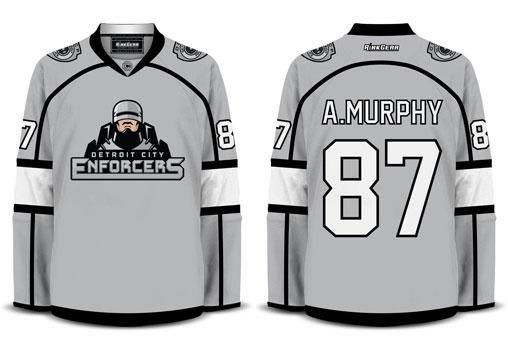 Robocop Hockey Shirt