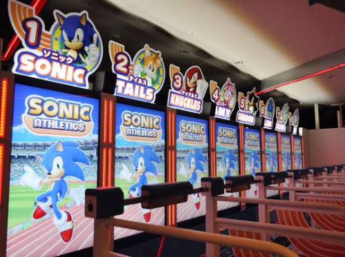 Sonic Athletics arcade image 1