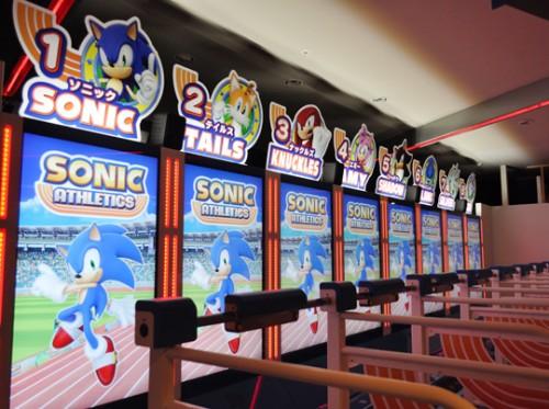 Sonic Athletics arcade image 1