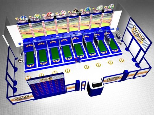 Sonic Athletics arcade image 2