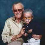Stan Lee & Stan Lee Cosplayer