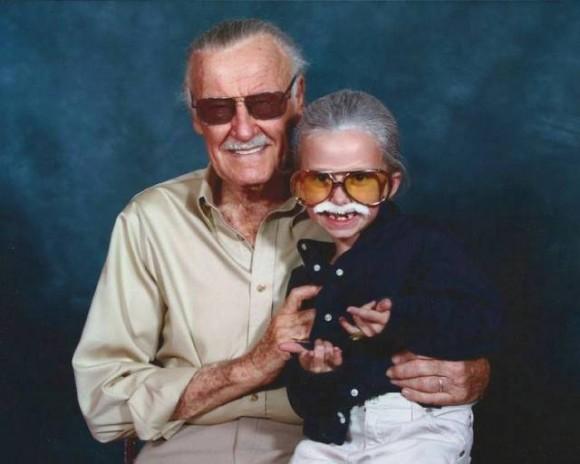 Stan Lee & Stan Lee Cosplayer