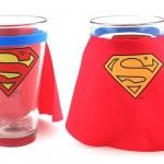 Superman Caped Pint Glass