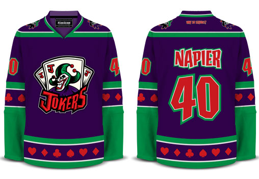 The Joker Hockey Jersey