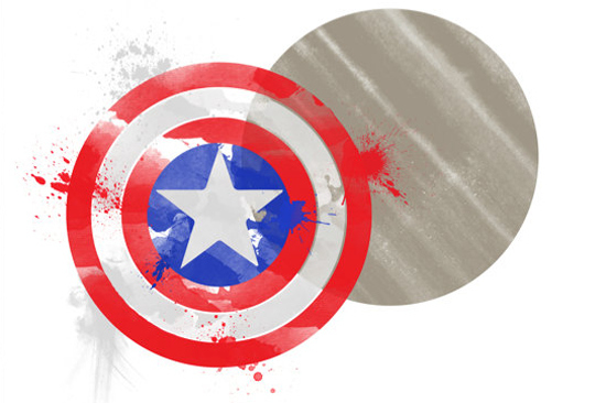 Vibranuim Shield - Captain America