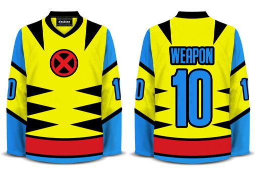 Wolverine Hockey Jersey