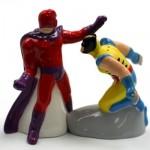 Wolverine vs Magneto Salt & Pepper Shakers