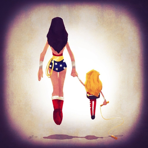 Wonder Woman Family