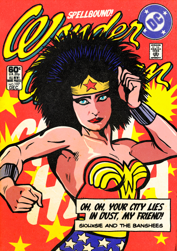 Wonder Woman Souxsie and the Banshees