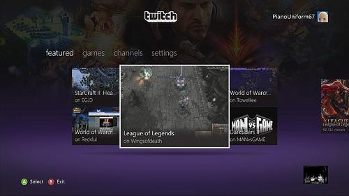 Xbox Live Twitch App image