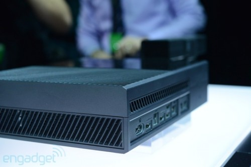 Xbox One console back by Engadget image