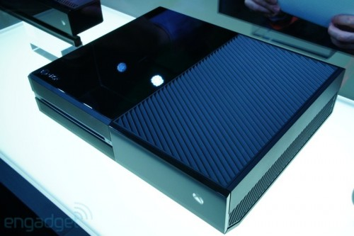 Xbox One console top by Engadget image