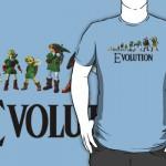 Zelda Evolution Shirt