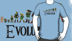 Zelda Evolution Shirt