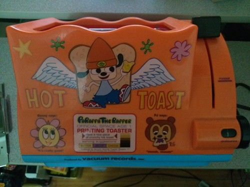 parappa the rapper printing toaster image 1