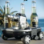Amphibious Electric Beer Delivery Vehicle