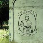 C-3PO Gay Graffiti