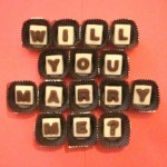 Chocolate Marriage Proposal