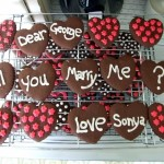 Cookie marriage proposal