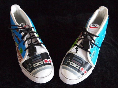 Custom NES shoes by Michael Kohl image 1.jpg