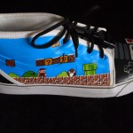 Custom NES shoes by Michael Kohl image 2