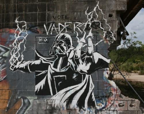 Star Wars Spaceship Battle Graffiti