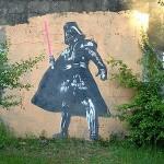 Darth Vader Graffiti 2