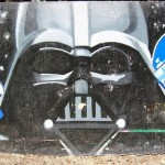 Darth Vader Helmet Graffiti