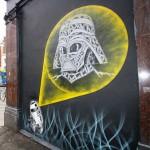 Darth Vader Hologram Graffiti