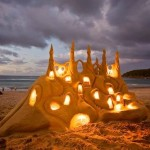 Iluminated Sand Castle