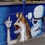 Jar Jar Binks Graffiti