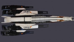 LEGO Mass Effect 2 Spaceship Normandy SR2