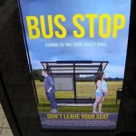 Live Photoshopping at Bus Stop