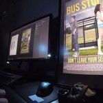 Live Photoshopping at Bus Stop – Adobe Creative Days 3
