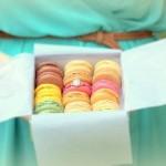 Macarons marriage proposal