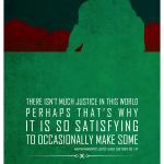 Martian Manhunter words of wisdom