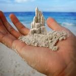 Miniature Sand Castle