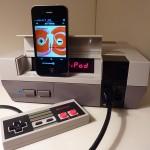 NES iPhone Speaker Dock