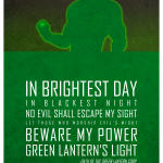 Oath of the Green Lantern Corp