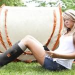 Orange Power Boots